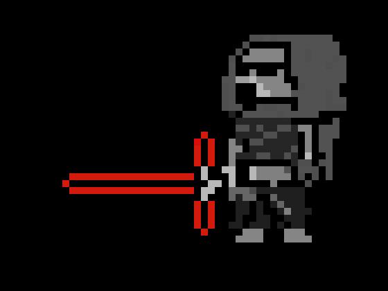Pixel Art Star Wars Kylo Ren Pixel Art Maker
