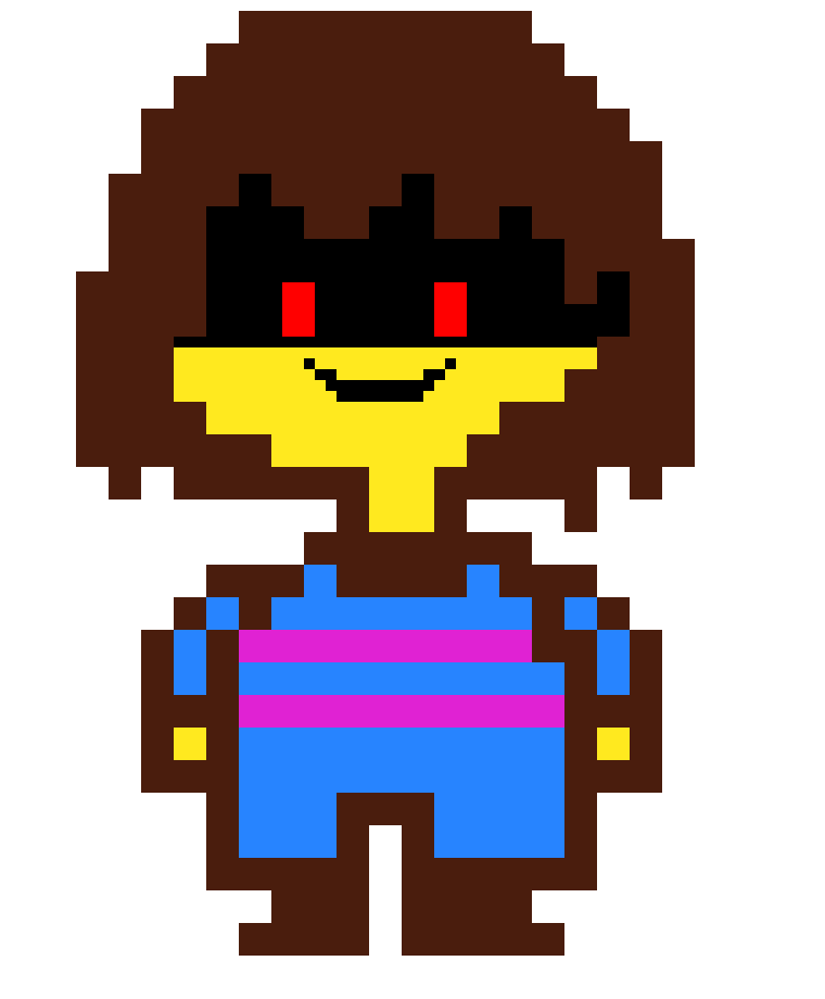 Undertale Frisk Sprite Pixel Art Maker Most of their other assets are shared with rg01 and rg02. pixel art maker