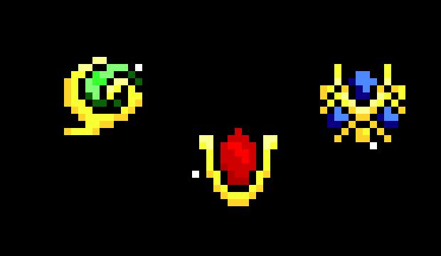 Ocarina Of Time Stones Pixel Art Maker