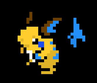 A Better Shiny Raichu Pixel Art Maker