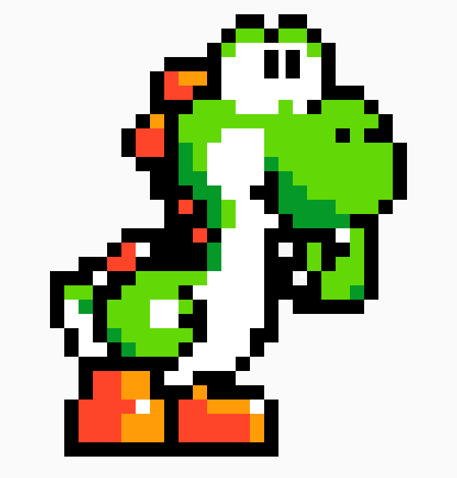 Yoshi | Pixel Art Maker