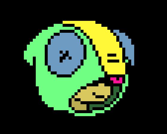 Leon pixelart