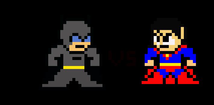 Batman Vs Superman Pixel Art Maker