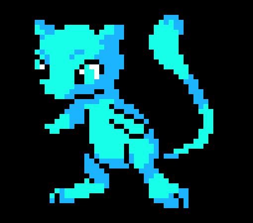 Pokemon Mew Pixel Art Maker