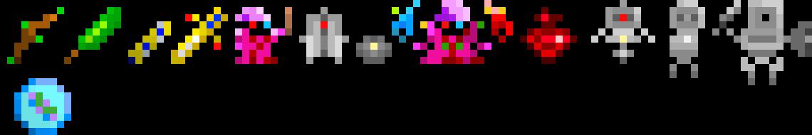 rotmg items and skins pixel art maker