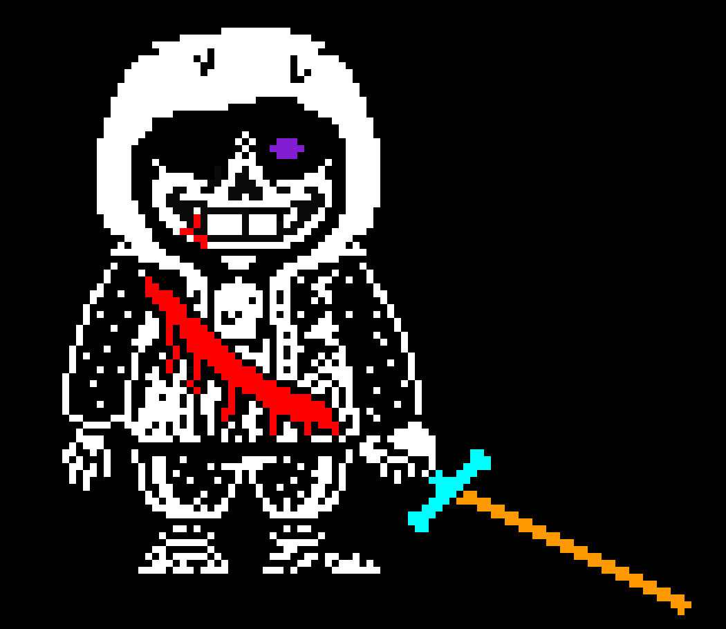 [1df24] and besides - *sword changes color* - whats your purpose in doing this, dont you think this is getting old?