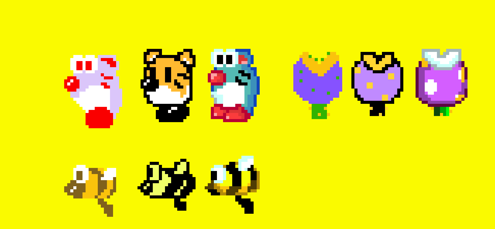 Super Mario Maker 2 some 3D world enemies in different