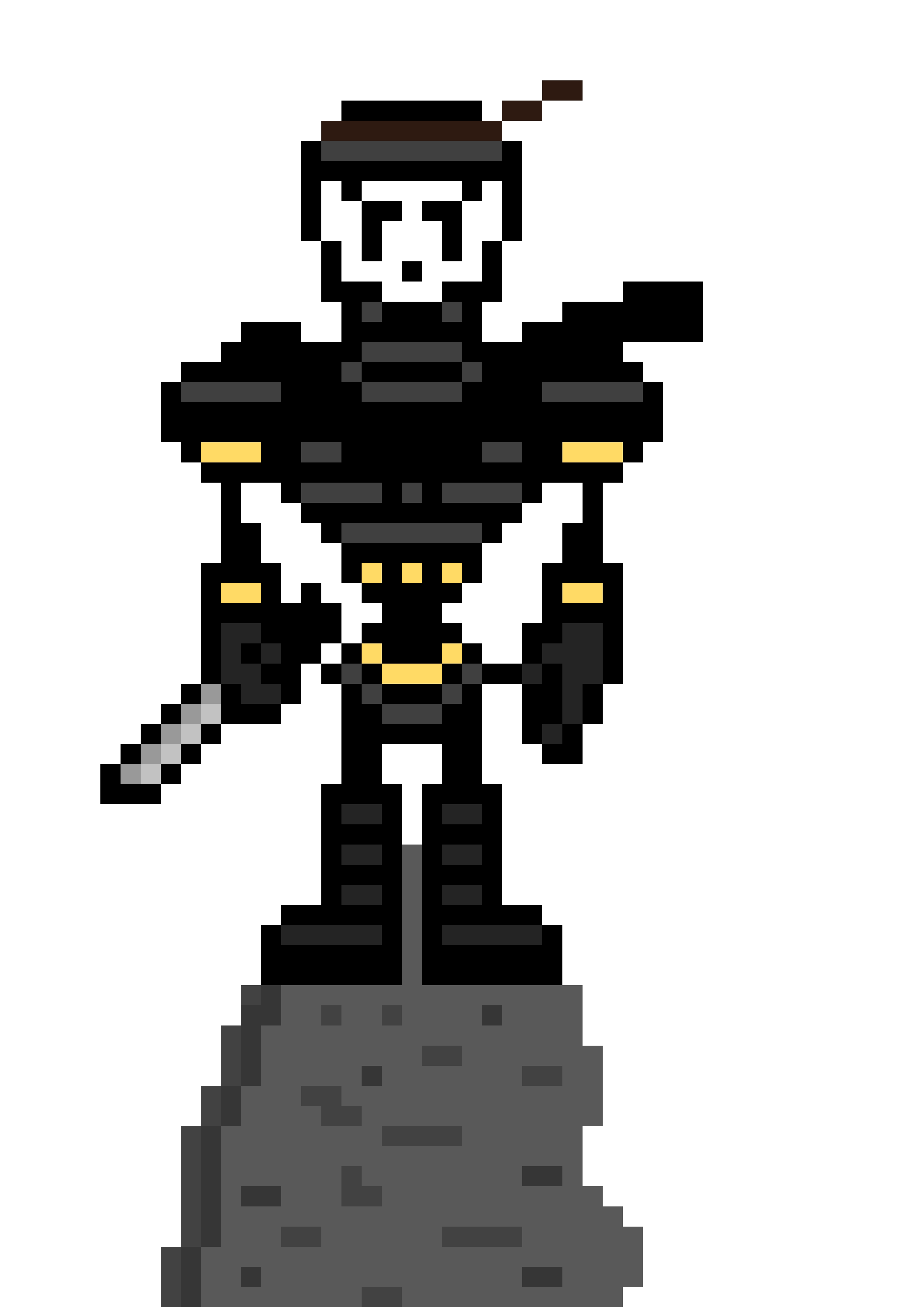 Ninja Papyrus Sprite Pixel Art Maker