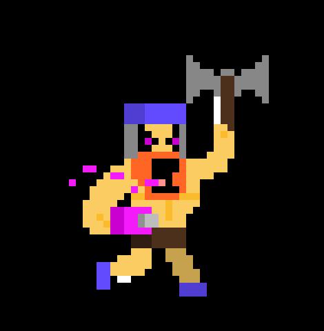 Minecraft clash of clans clash royale pixel art pixel 583*501.