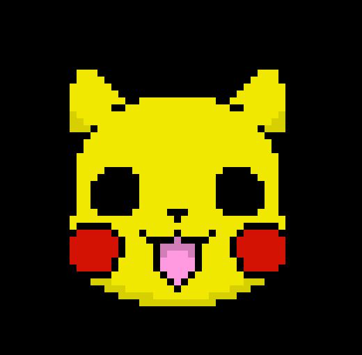 Pokemon Shuffle Pikachu Pixel Art Maker