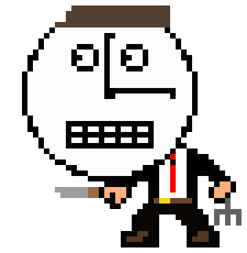 Newest pixel art from PAM: