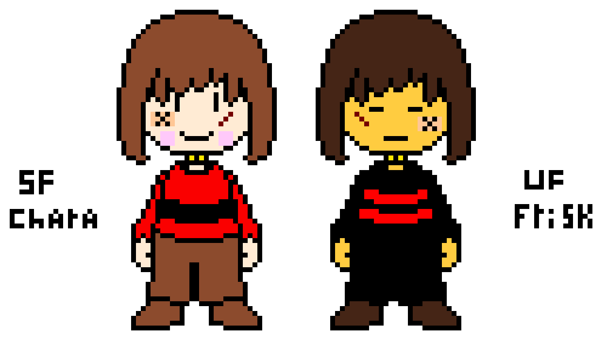 SF Chara and UFFrisk
