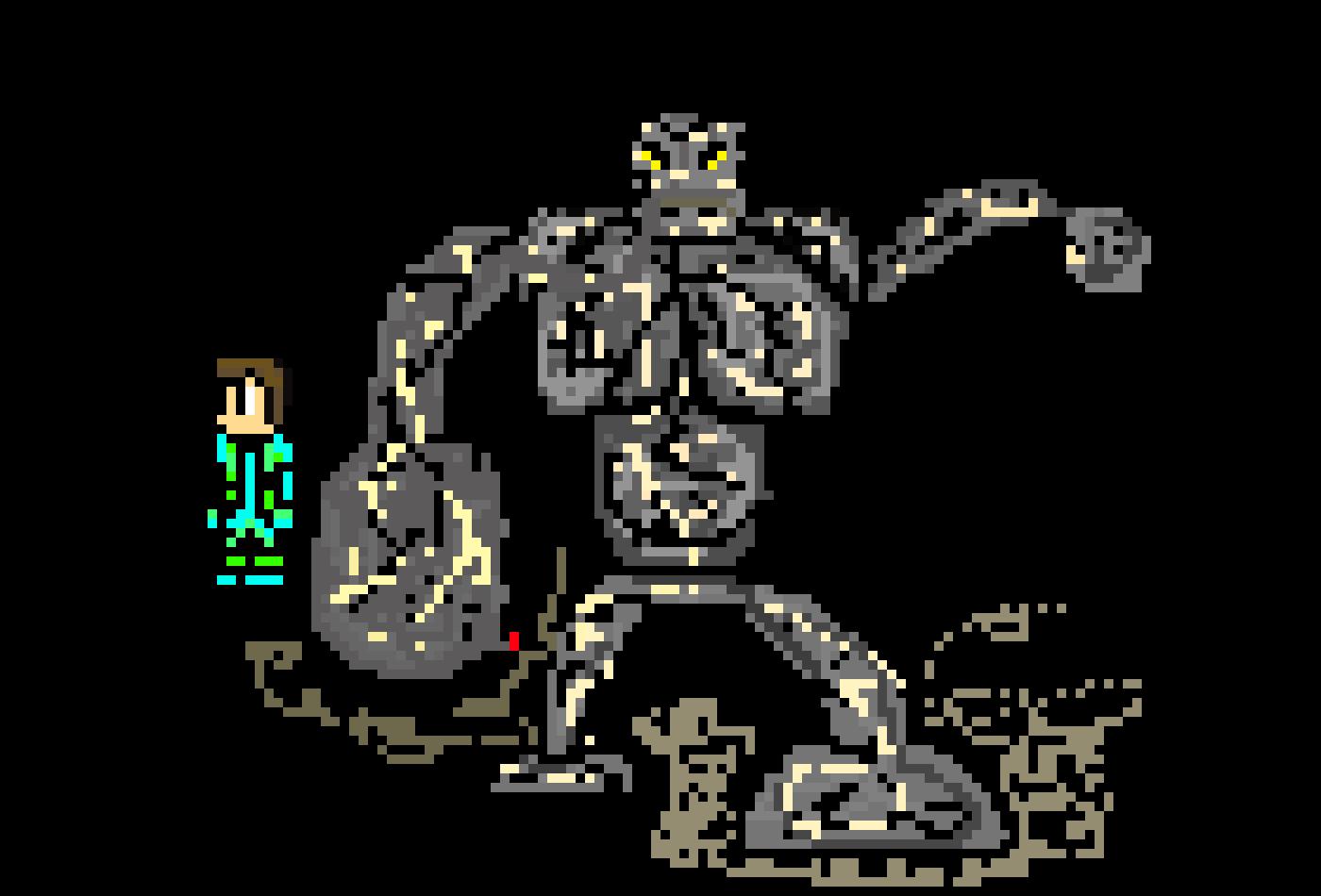 New terraria boss mod