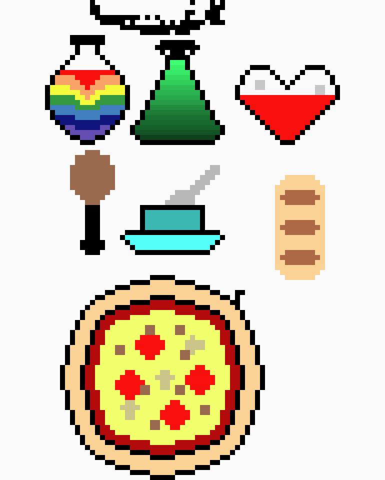 RPG Sprites | Pixel Art Maker