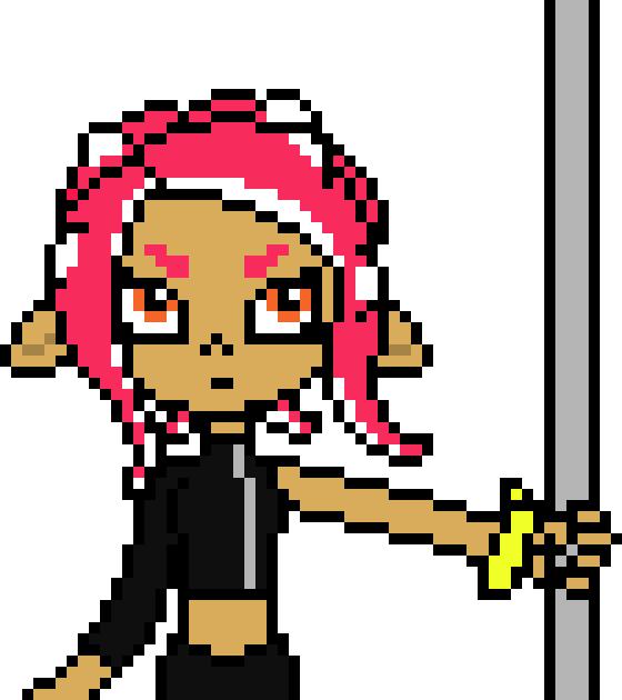 Not Done Dont Steal Splatoon Sal Pixel Art Maker