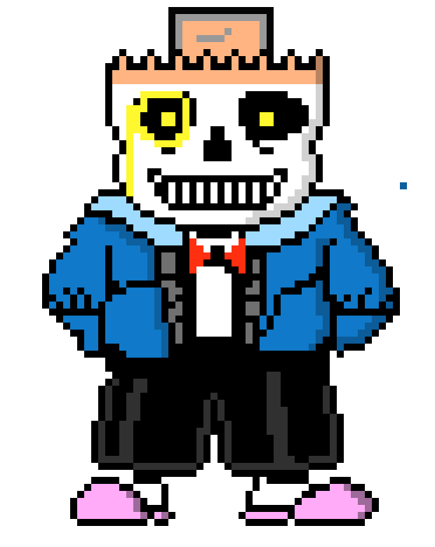 Mechanicalbig Ben Sans Pixel Art Maker