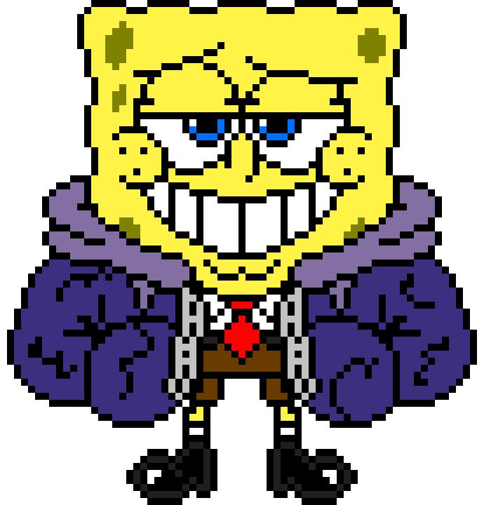 Spongeswap Spongebob Sprite Pixel Art Maker