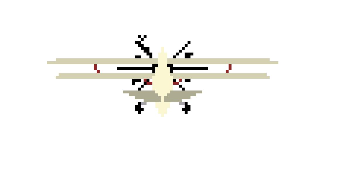 PLANE FRAME 5 | Pixel Art Maker