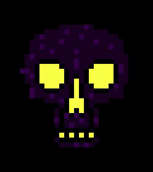 how to make obsidian skull