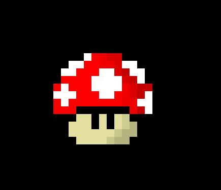 Mario Mushroom Pixel Art Maker