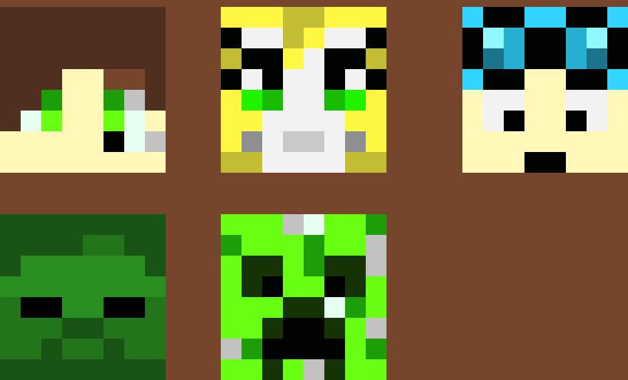 Minecraft Heads 2 | Pixel Art Maker