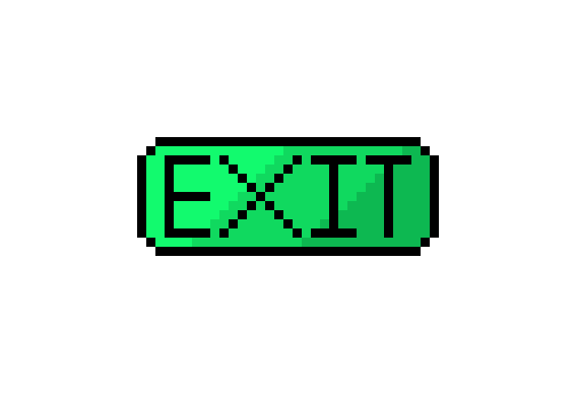 exit button pixel art maker pixel art maker