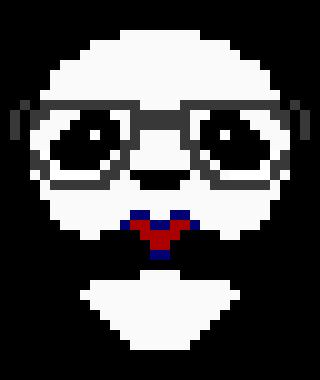 Pixel Pandaheart Pixel Art Maker