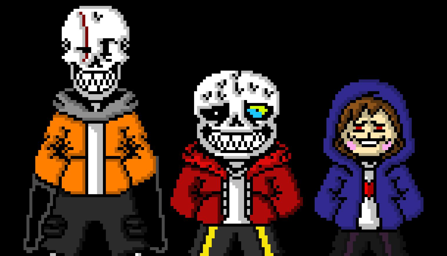 Custom Undertale Characters