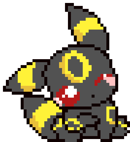 Souvent Umbreon KAWAII | Pixel Art Maker PA14