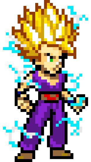 Gohan Pixel Art Maker
