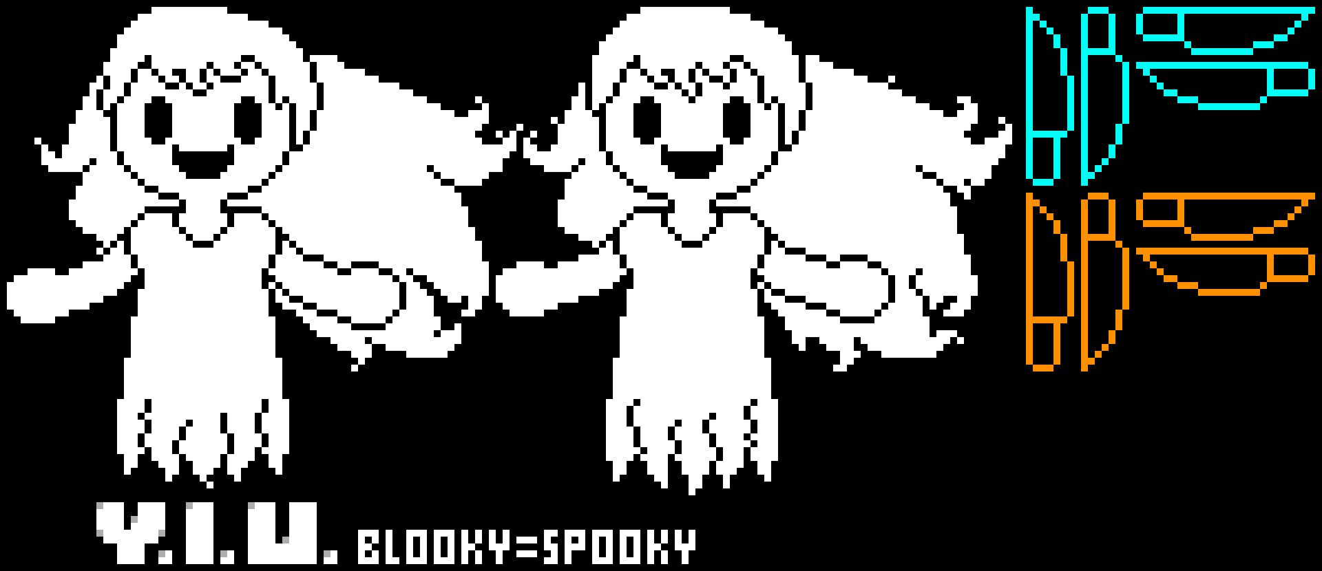 Your Indie Underground (My AU) Blooky = Spooky Battle Pt 2