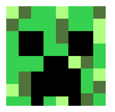 Creeper head | Pixel Art Maker
