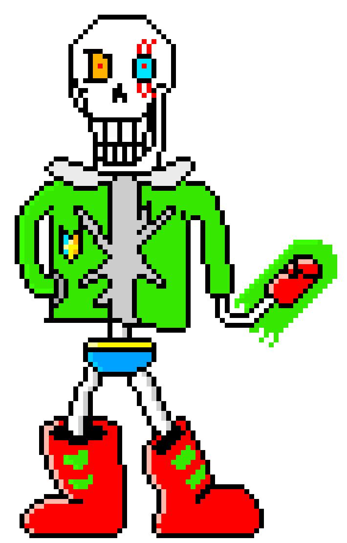 Ideas For Pixel Art Maker Papyrus @KoolGadgetz.com