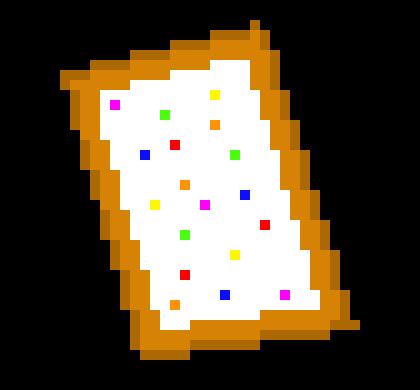 decaying poptart pixel art maker