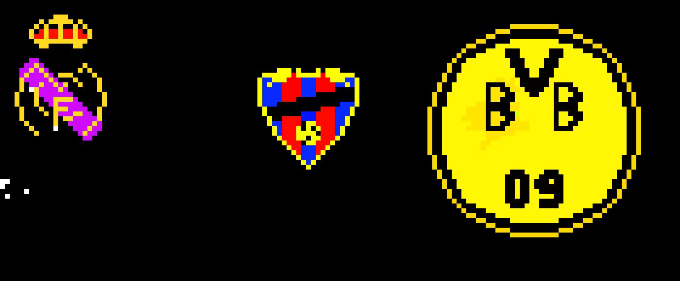 Football Logos Pixel Art Maker
