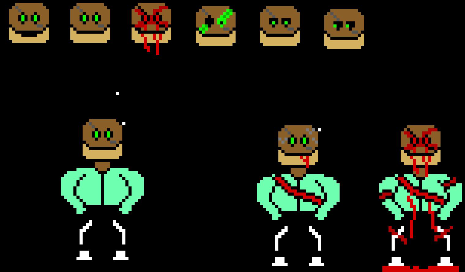 Undertale Au Atoe Sans Sprites Colored Finished Pixel Art Maker
