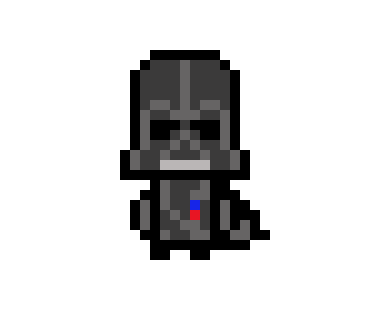 Kawaii Darth Vader Pixel Art Maker