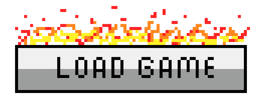 load game button concept