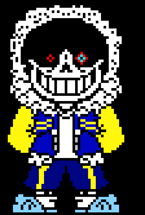 Outerdust Sans Without any dust