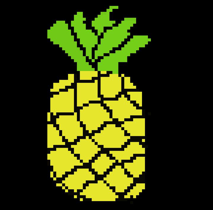 Cocos Pineapple Pixel Art Maker