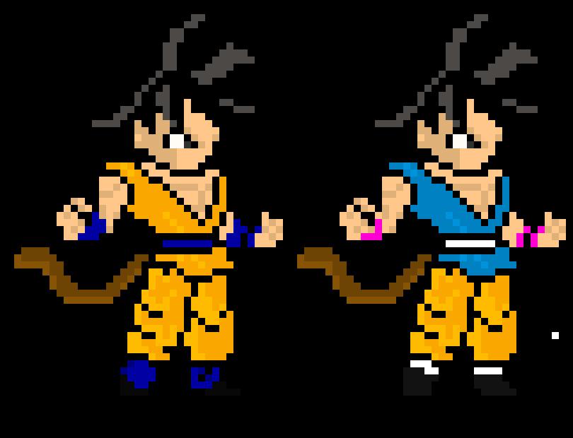 Goku Sprite Gt Dragon Ball Super Kamuisenketsu Pixel