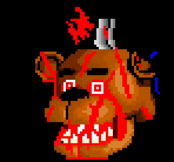 Red Glow Freddy Fazbear