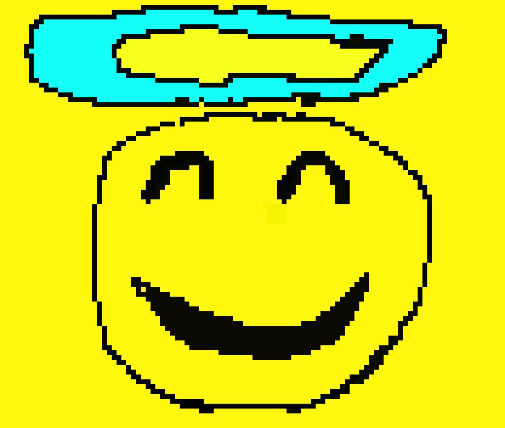 Angel Emoji Pixel Art Maker