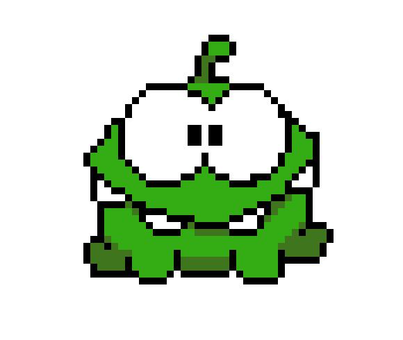 Om Nom Pixel Art Maker Abonne toi et like * pinterest : pixel art maker