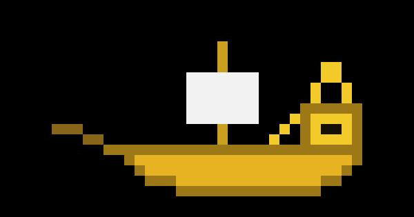 Pirate Ship Pixel Art Maker
