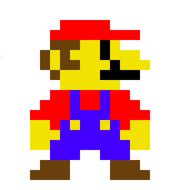 Super Mario Sprite | Pixel Art Maker