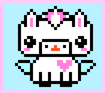 Kawaii Unicorn Pixel Art Maker