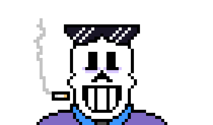 your an ink sans now cool (i was considering making an ink sans/papyrus edition of myself nows the perfect opportunity )