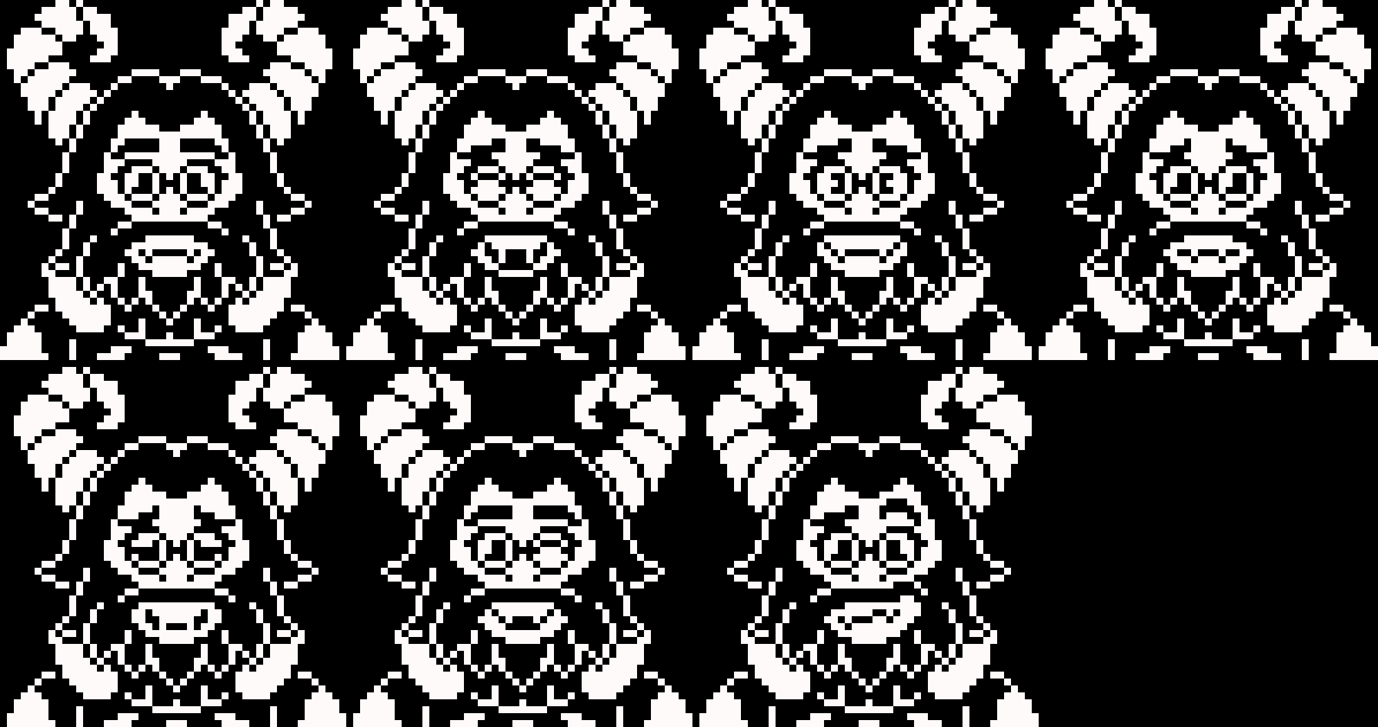 The many faces of TS!UNDERSWAP ASGORE