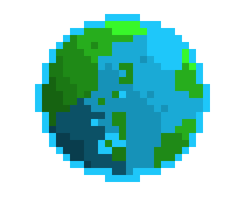 Earth Pixel Pixel Art Maker